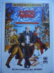 Doctor Who Season Seven Special Signed Nicholas Courtney CMS In-Vision